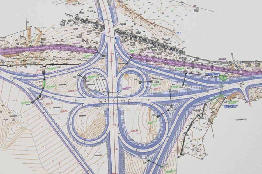Проектирование автомобильных дорог, объектов автодорожной инфраструктуры, мостовых переходов и путепроводных развязок;